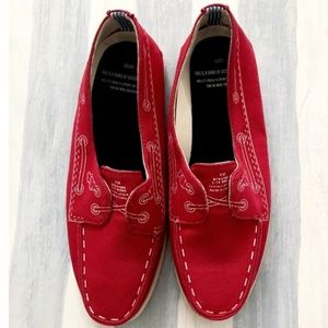 Band of Outsiders by Sperry canvas boat sh…
